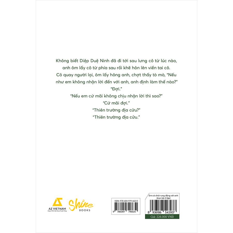Em Có Chút Rung Động Với Anh (2 Tập)(Tặng Kèm 1 Bookmark)