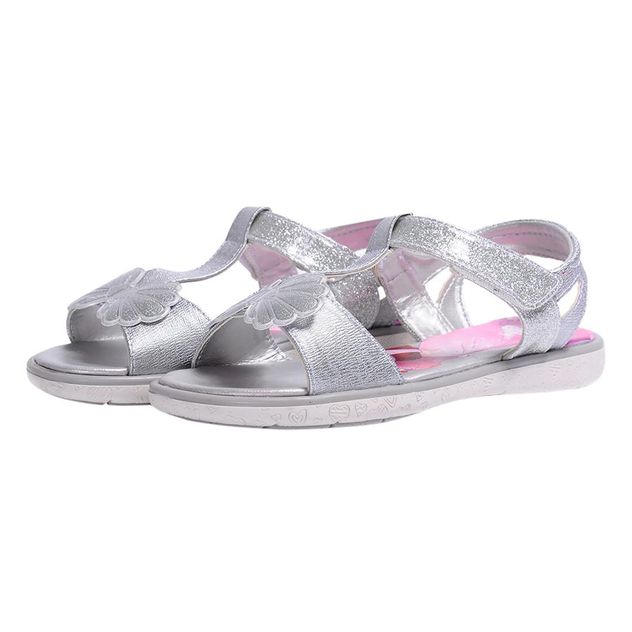 Giày Sandal - TPR Bitis Disney DTB068111BAC27 - Bạc Size 27