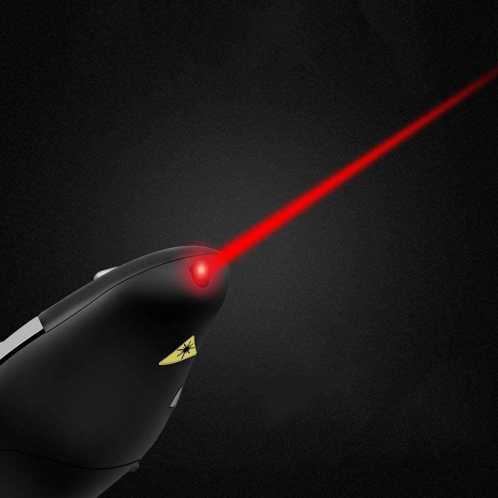 Bút trình chiếu laser màu đỏ điều khiển từ xa không dây 2.4G RF USB- Hàng Chính Hãng