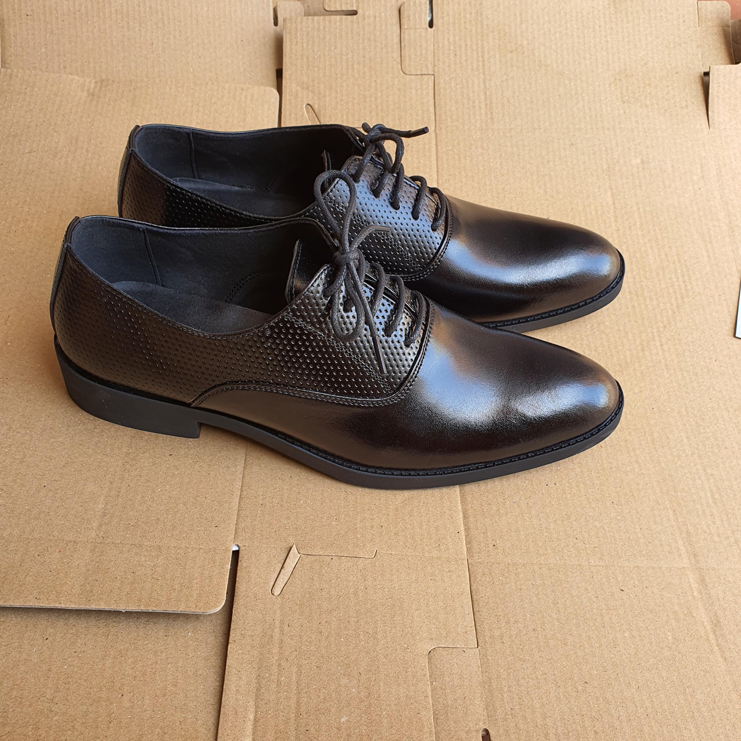 Giày Tây Nam Da Mềm phong Cách Công Sở -- CT05