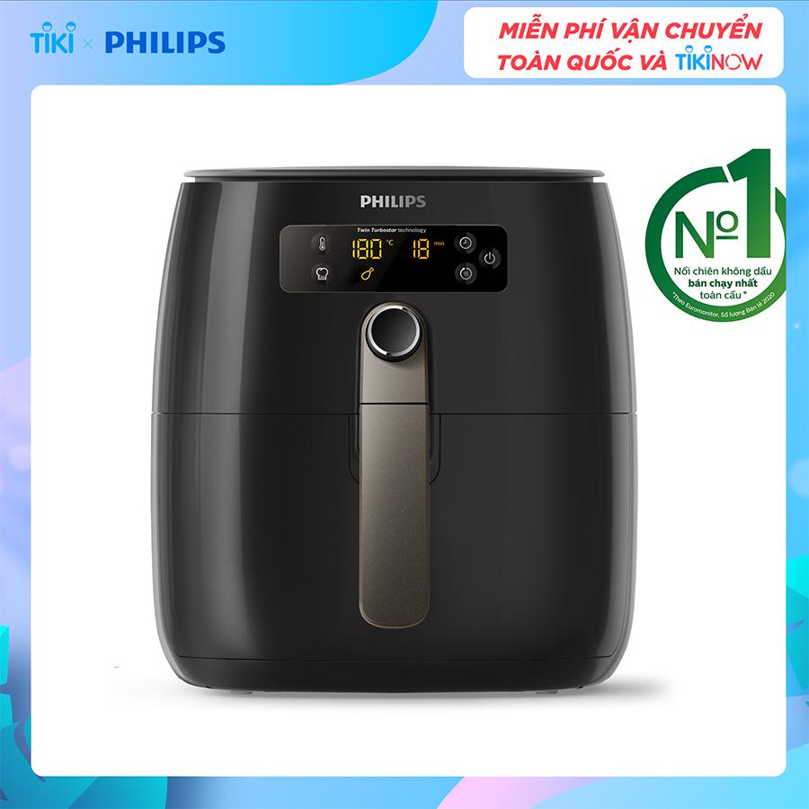 Hình ảnh Nồi Chiên Không Dầu Philips HD9745 (1500W) - Hàng Chính Hãng