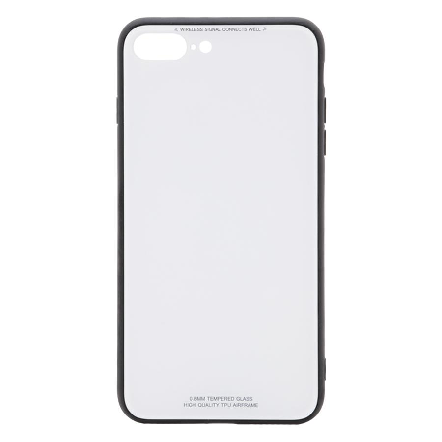 Ốp Lưng Dành Cho iPhone 7 Plus 8 Plus Mặt Kính Cường Lực Cao Cấp Sang Trọng  - Trắng - 24052328 , 1988048009775 , 62_4371177 , 200000 , Op-Lung-Danh-Cho-iPhone-7-Plus-8-Plus-Mat-Kinh-Cuong-Luc-Cao-Cap-Sang-Trong-Trang-62_4371177 , tiki.vn , Ốp Lưng Dành Cho iPhone 7 Plus 8 Plus Mặt Kính Cường Lực Cao Cấp Sang Trọng  - Trắng