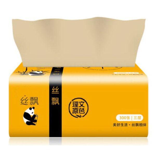 Bộ 10 gói giấy ăn than tre gấu trúc