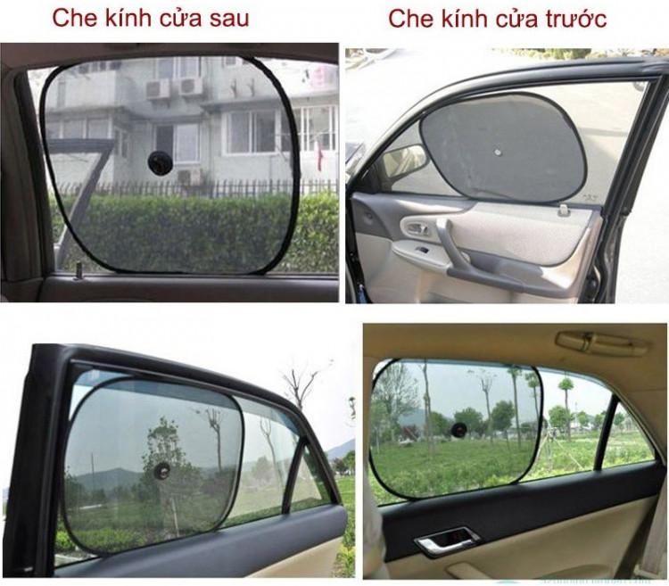 Bộ 2 tấm che nắng cửa kính ô tô