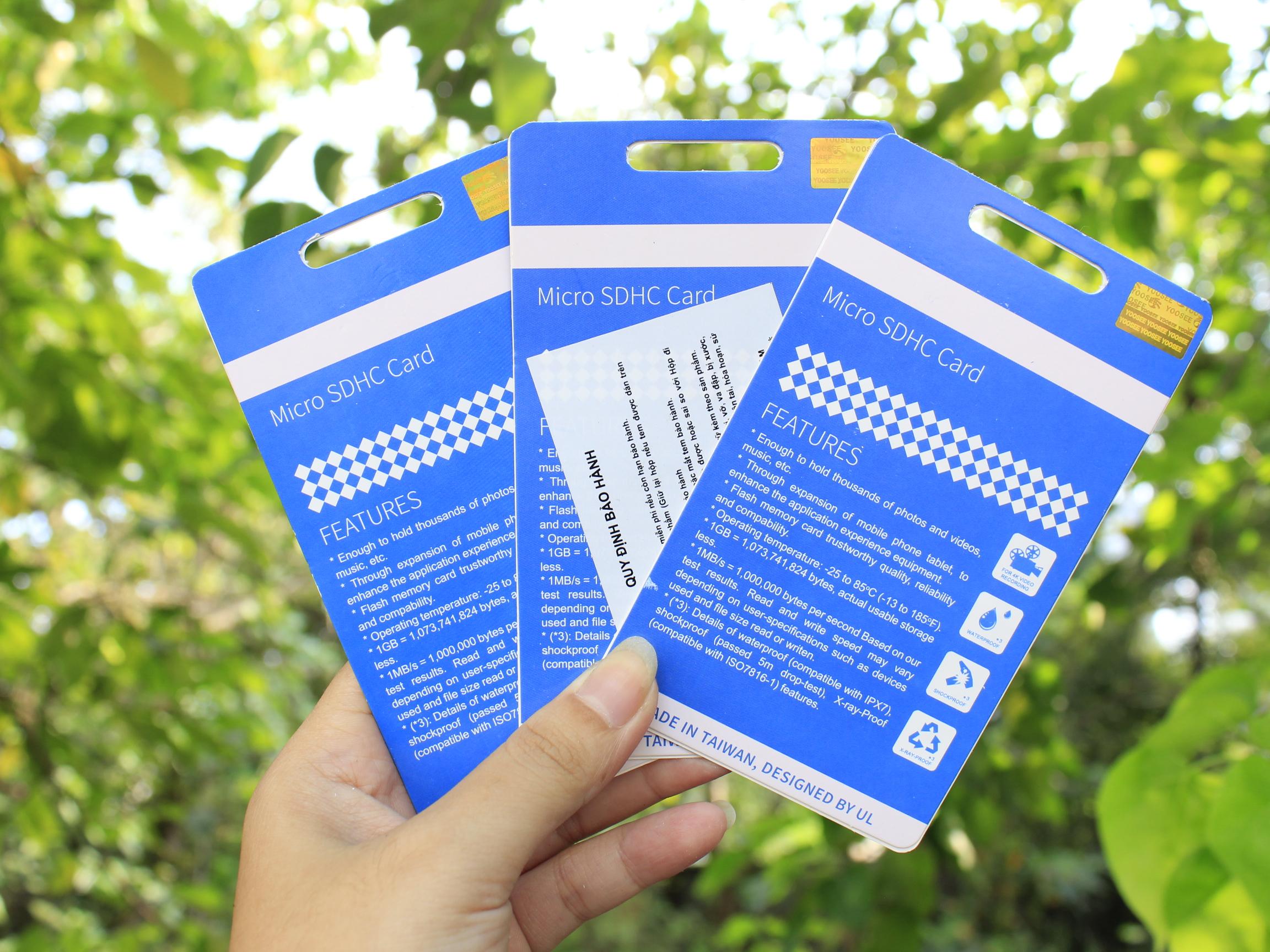 Thẻ Nhớ Có Box MicroSDHC Yoosee 64GB Màu  Ngẫu Nhiên High Speed U3 - Chuyên Camera Và Điện Thoại - Hàng Nhập Khẩu