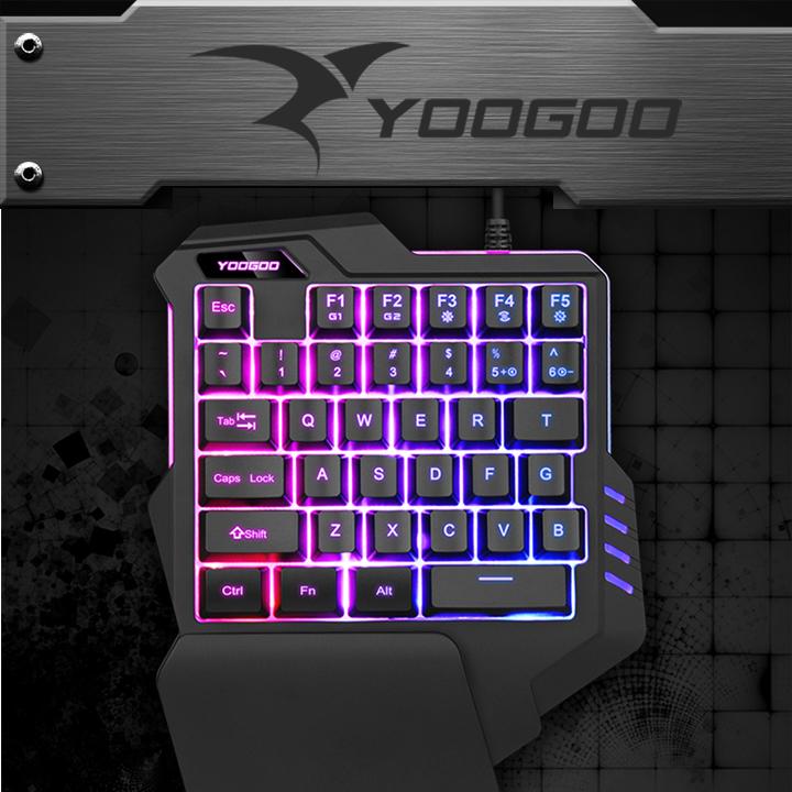 Bộ Bàn phím giả cơ YOOGOO G92 và chuột X9 chuyên game [TẶNG KÈM LÓT CHUỘT]  - Hàng Nhập Khẩu