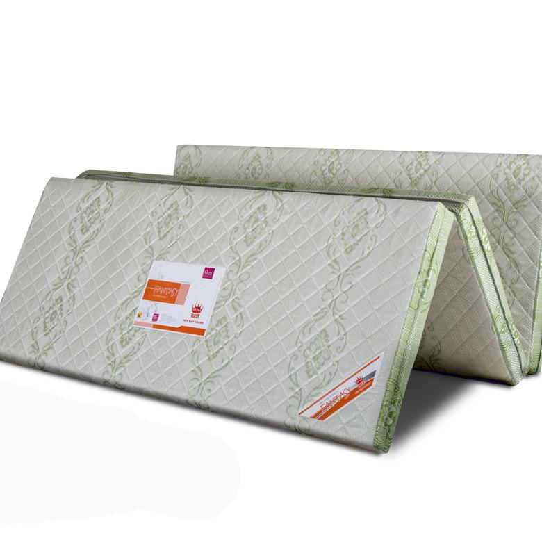Nệm Gòn Ép Gấp 3 - Vải Cotton (1m6 X 1m95 X 5cm)