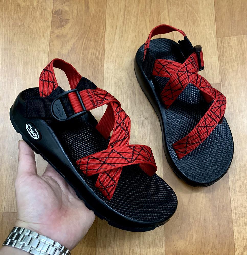 Giày Sandal Nam Cha Co Vải Dù Cao Cấp D104 Ảnh Thật