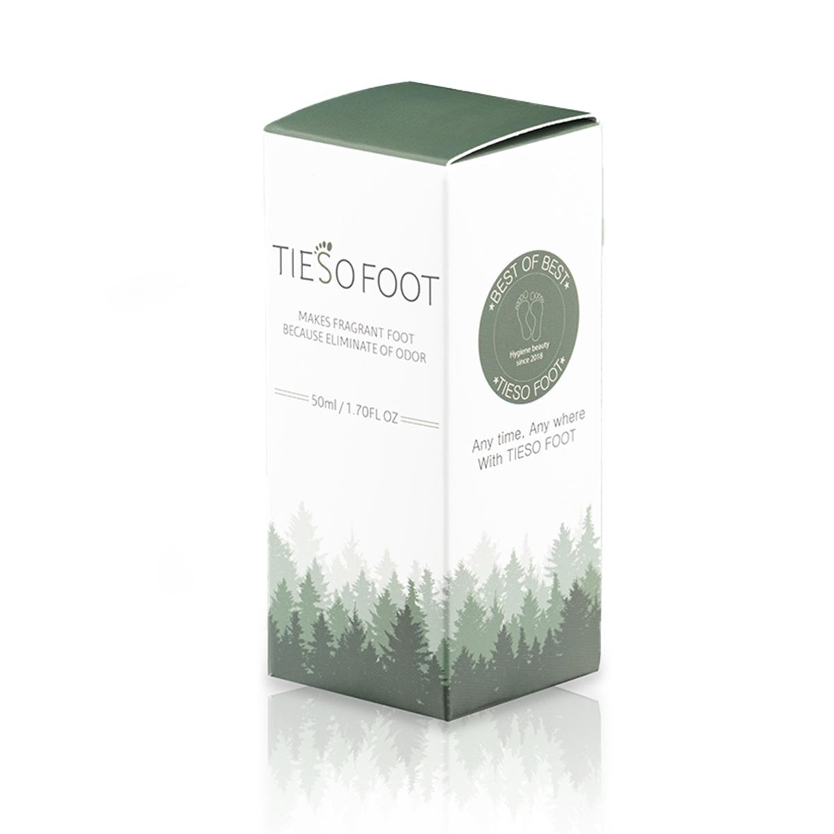 Xịt Khử Mùi Hôi Chân Cao Cấp Tieso Foot Spray Từ Hàn Quốc Dung Tích 50ml