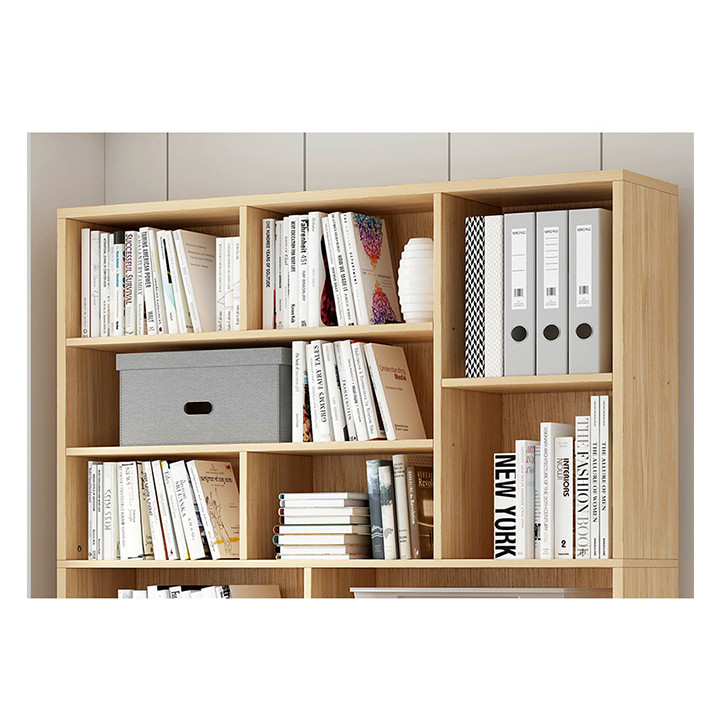 Tủ để sách bằng gỗ, tủ văn phòng, tủ tài liệu BGK2021 (giao màu ngẫu nhiên)