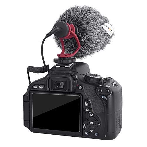 Lông Lọc Gió Comica CVM-MF3 dùng cho RODE Video Micro, COMICA VM10II, BOYA BY-MM1 | Hàng Chính Hãng