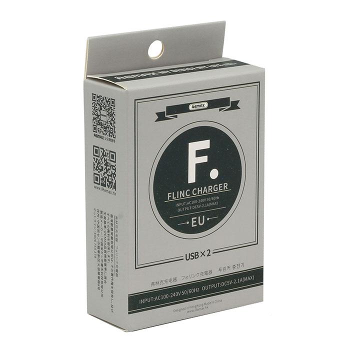 Adapter Sạc 2 Cổng USB 2.1A Remax RP-U29 - Hàng chính hãng