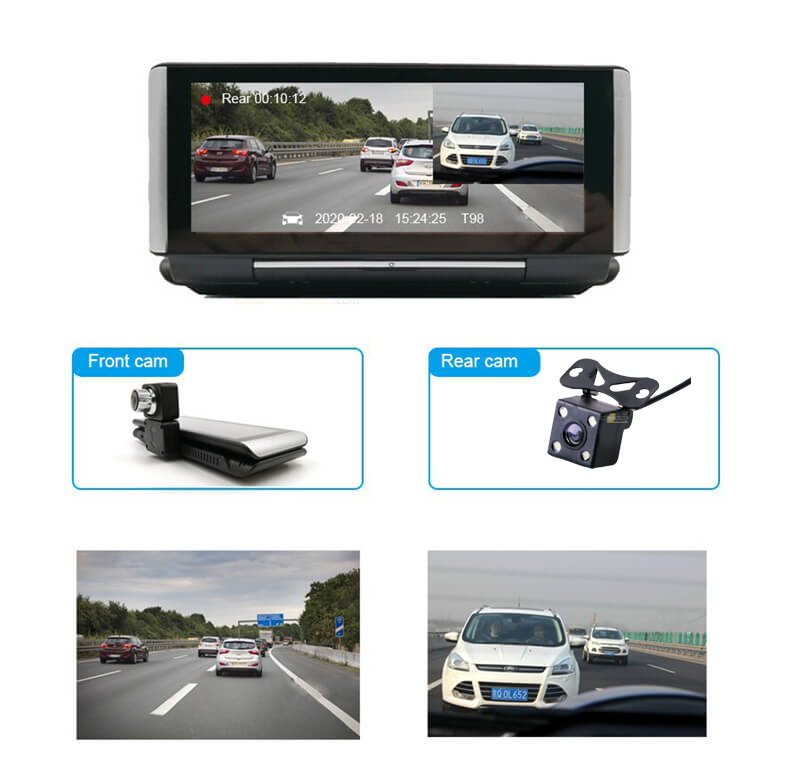 Camera Hành trình Android H88 7 inch HD 3G Phát Wifi, Dẫn Đường, Quản Lý Xe Từ Xa