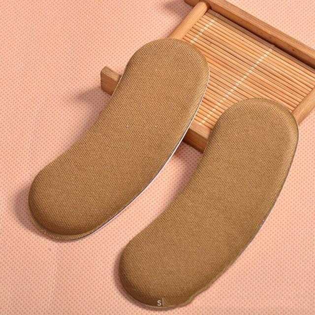 Bộ 2 miếng lót gót giày bằng vải