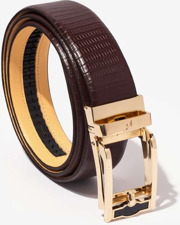 Thắt Lưng Nam Da Bò Cao Cấp Màu Nâu WT Leather 1437.1
