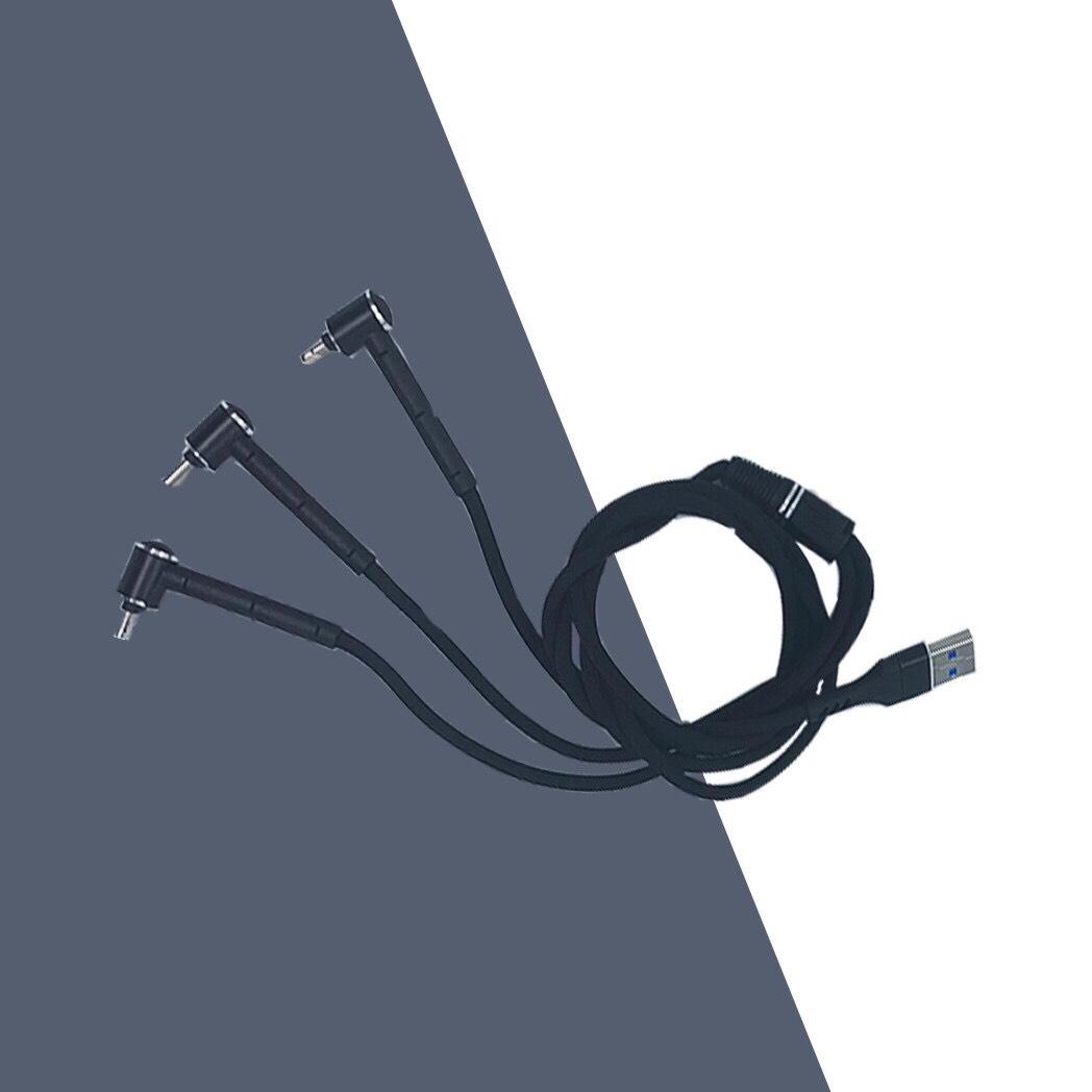 Dây cáp sạc nhanh 3 đầu đa năng kiêm giá đỡ điện thoại. Hỗ trợ cổng lightning, type-C và micro-USB, cực bền. Dây sạc dành cho iphone, OPPO, SAMSUNG,....