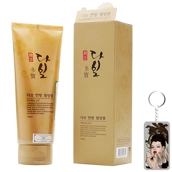 Tẩy da chết dịu nhẹ Dabo Peeling Gel Hàn Quốc 180ml Tặng Móc khoá