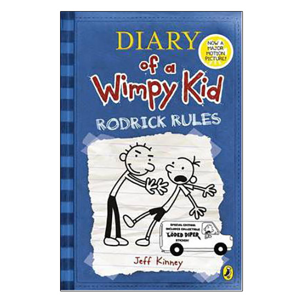 Diary Of A Wimpy Kid 02: Rodrick Rules (Paperback)