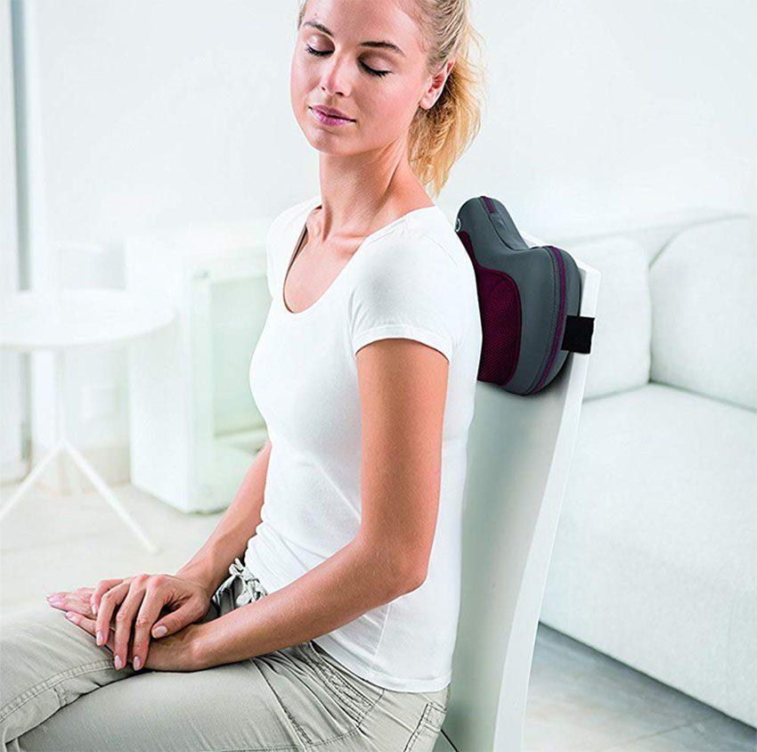 Combo Gối Massage Shiatsu Beurer MG149 + Nhiệt Kế Điện Tử Đầu Mềm Medilife ( hình thú ngẫu nhiên )