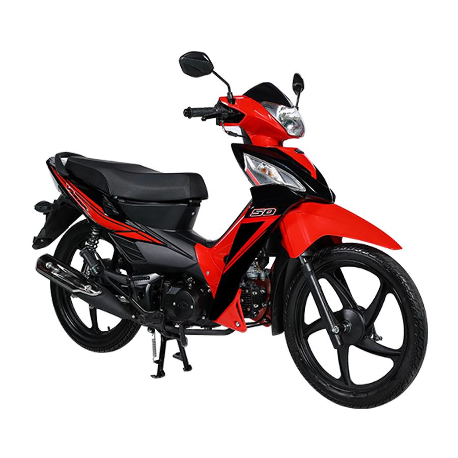 Xe Máy Kymco Visar 50cc - Đỏ