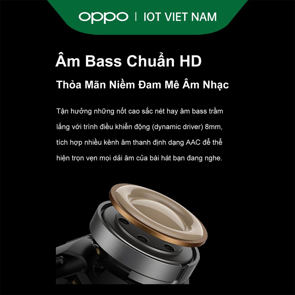 Tai nghe Không Dây True Wireless OPPO Enco Buds | Công Nghệ Truyền Âm Bluetooth 5.2 | Pin Lên Đến 24H | Chống Ồn Thông Minh | Tự Động Ghép Nối Ngay Khi Mở Nắp | Hàng Chính Hãng