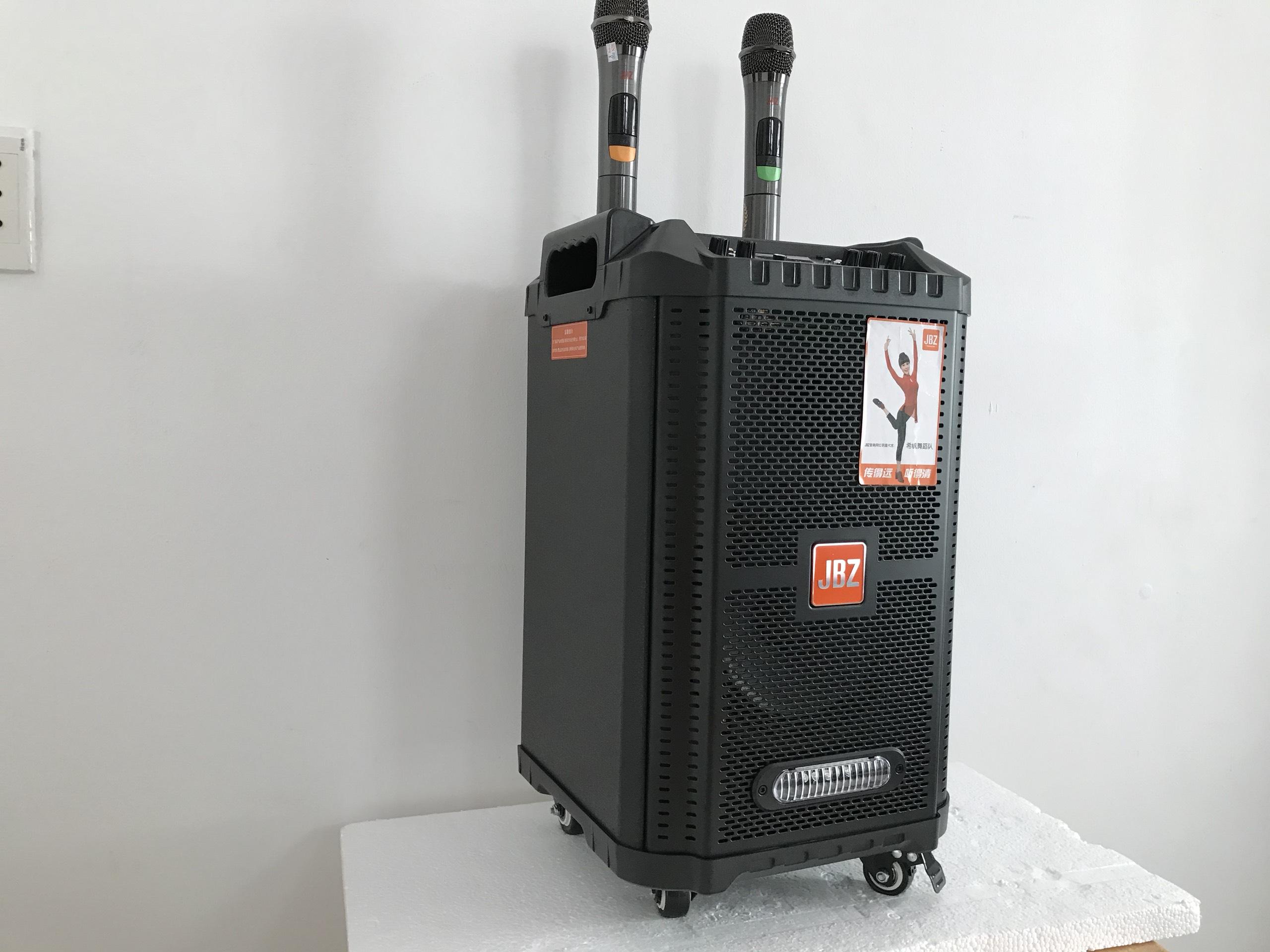 """Loa kéo gỗ """"JBZ 0806"""" karaoke di động bass 2 tấc - SẢN PHẨM CHÍNH HÃNG"""