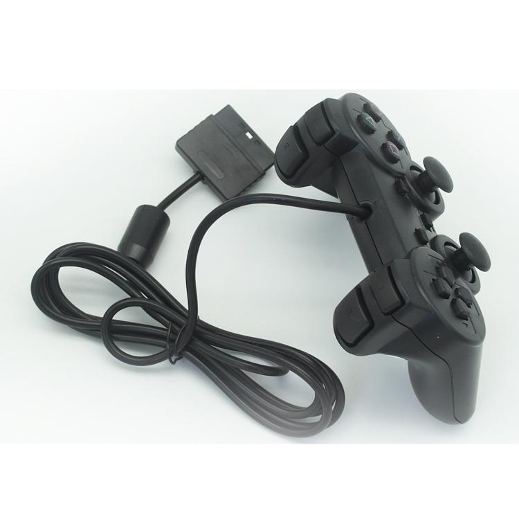 Tay cầm chơi game có dây cho Playstation 2, PS2 Slim - Hàng Nhập Khẩu