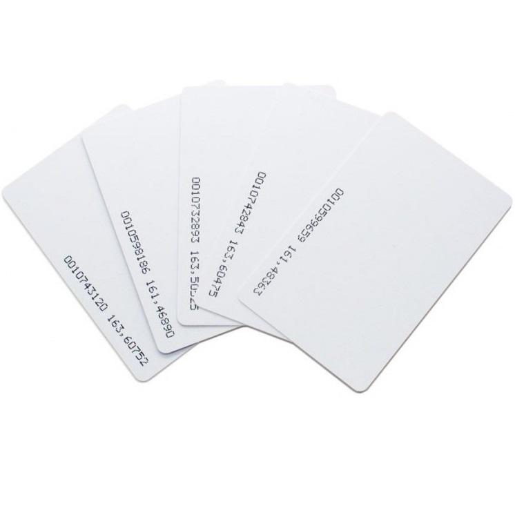 [ Set 10 thẻ] Thẻ từ máy chấm công tần số 125Khz - loại mỏng 0.8mm