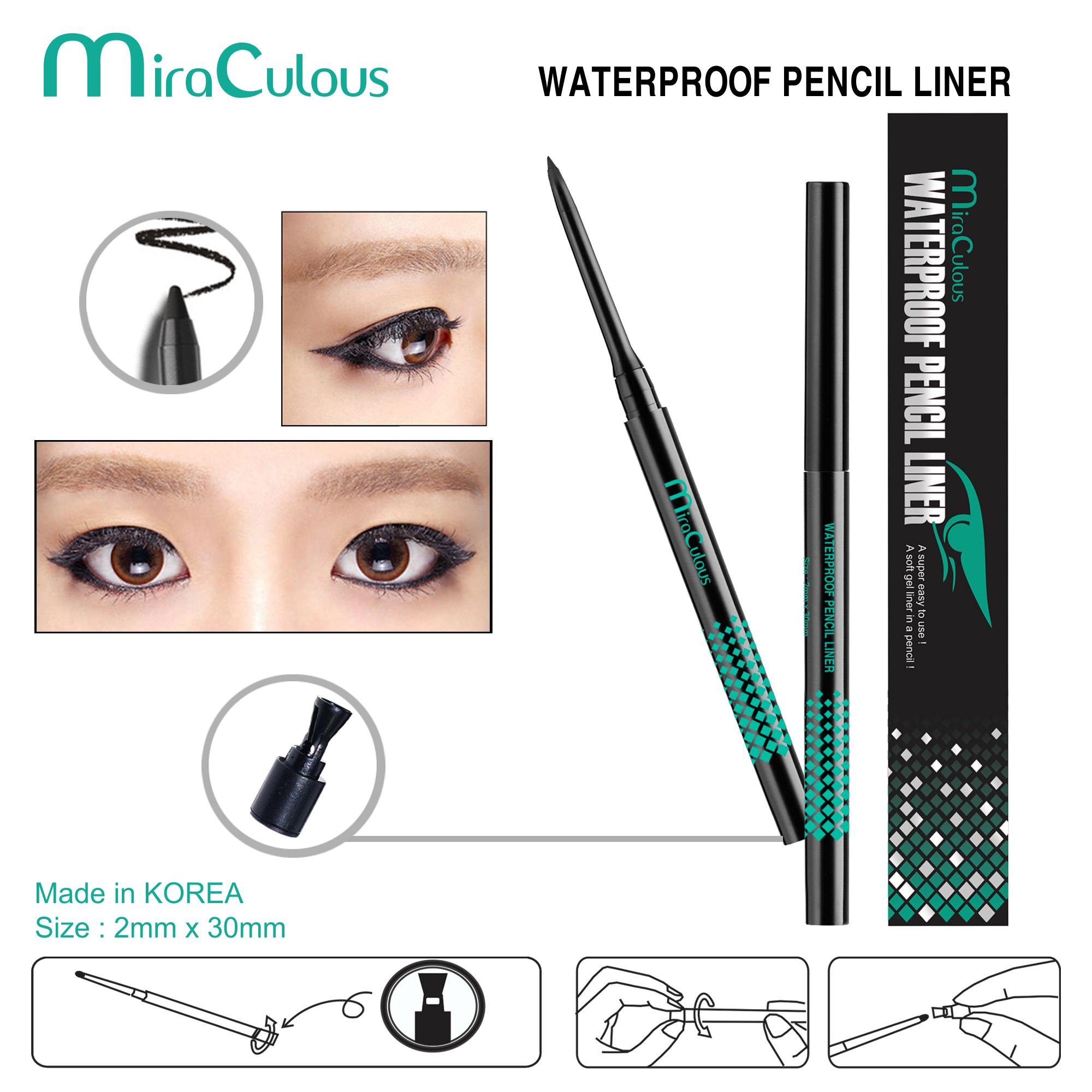 Gel Kẻ Mí MiraCulous Waterproof Pencil Liner - D376