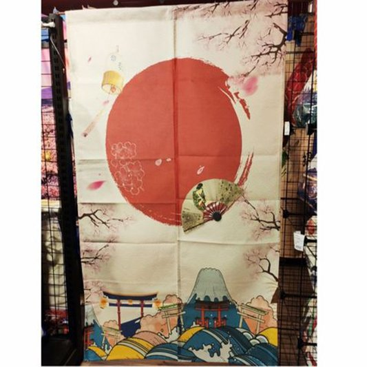 Màn rèm noren phong cách Nhật Bản