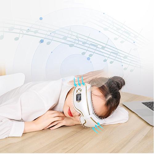 Máy massage mắt pin sạc áp suất khí Bluetooth có nhiệt YJ-518