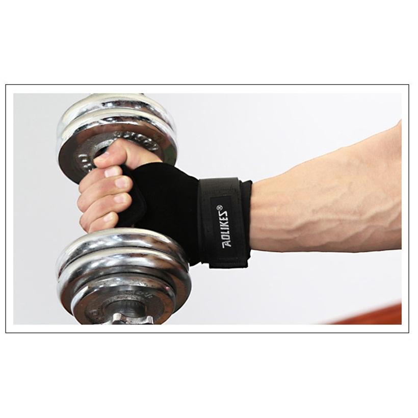 Găng cuốn cổ tay, giảm trấn thương khi hoạt động thể thao Aolikes AL7639 (1 đôi)
