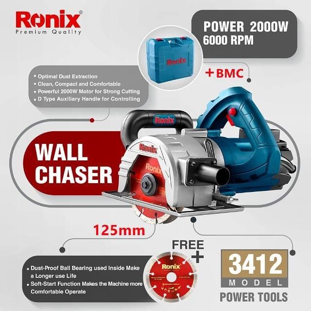 Máy cắt gạch 125mm Ronix model 3412