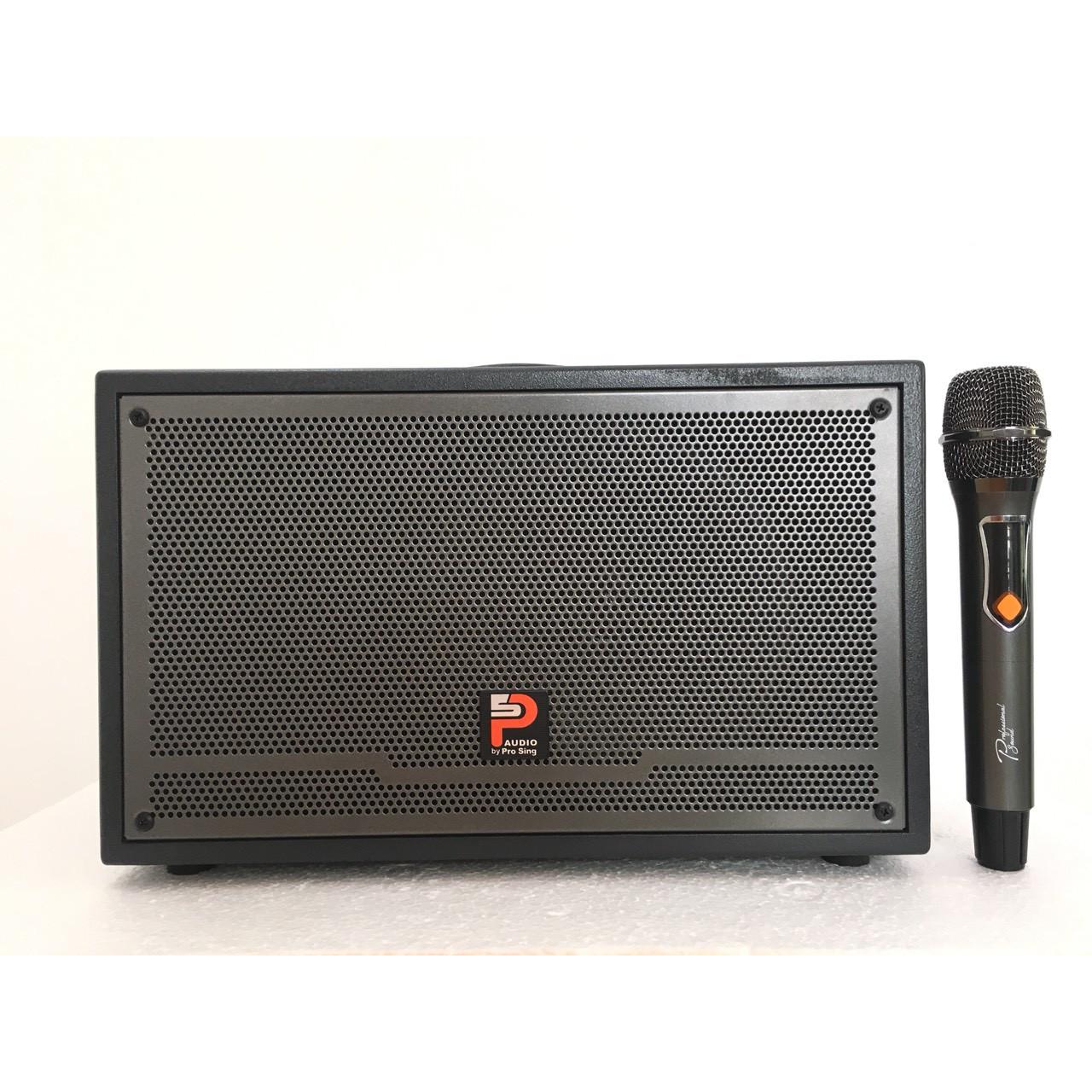 """Loa Xách Tay """"PROSING W-SLIVER-E"""" Karaoke di động – Micro UHF - SẢN PHẨM CHÍNH HÃNG"""