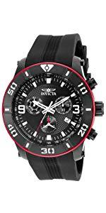 Invicta Men s Pro Diver Quartz Diving Watch with Stainless-Steel Strap, Silver, 22 (Model 22019) 13