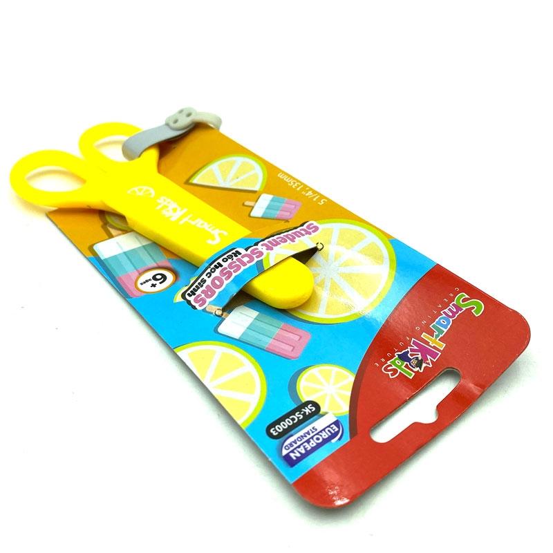 Bộ 2 Kéo Học Sinh Smart Kids SK-SC0003 - Màu Vàng