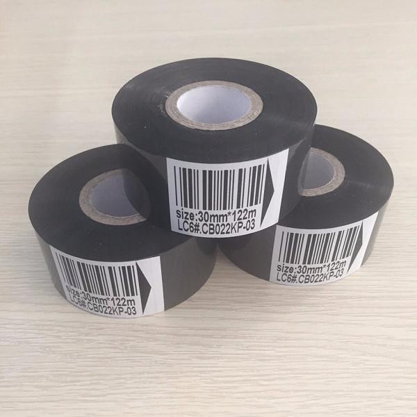 [ Set 5 cuộn] Mực in date (Ribbon) 30mmx122m - Hàng nhập khẩu