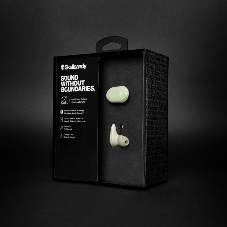 Tai nghe True Wireless Bluetooth Skullcandy Push - Xanh Bạc Hà - Hàng Chính Hãng