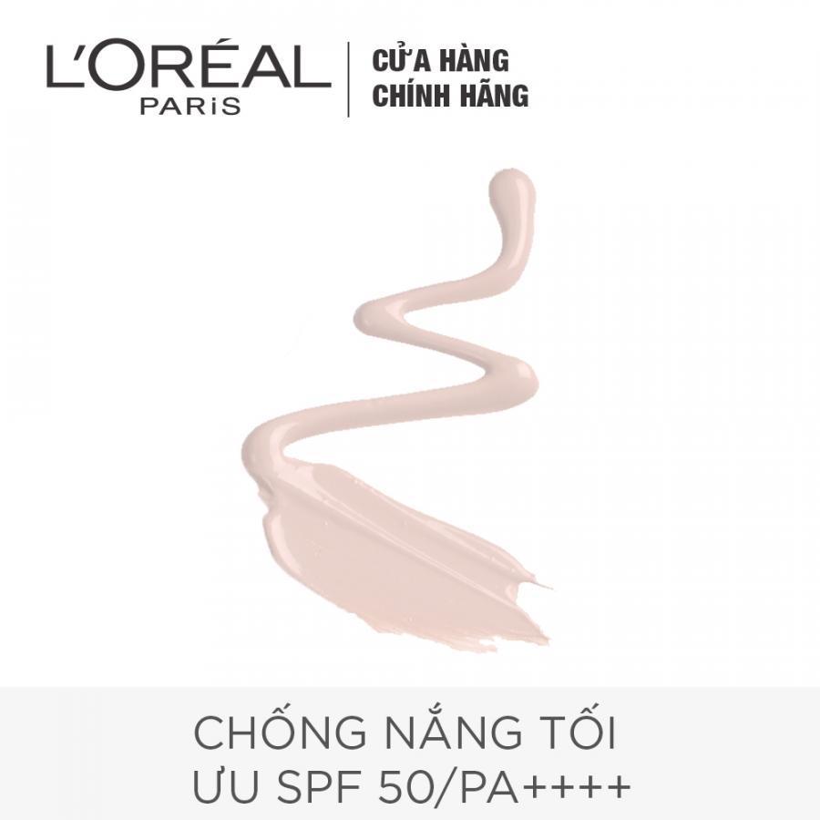 Kem Chống Nắng Sáng Hồng Da Bảo Vệ 12h L'oreal SPF50/PA+++ UVP  (30ml)