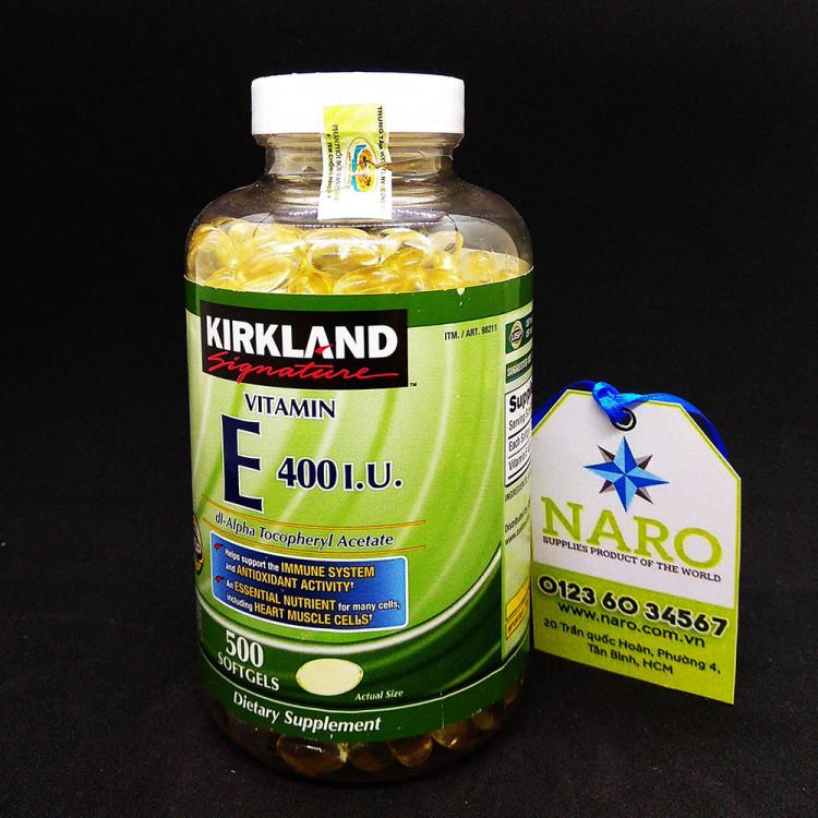 Sản phẩm giúp bổ sung hàm lượng Vitamin E 400IU