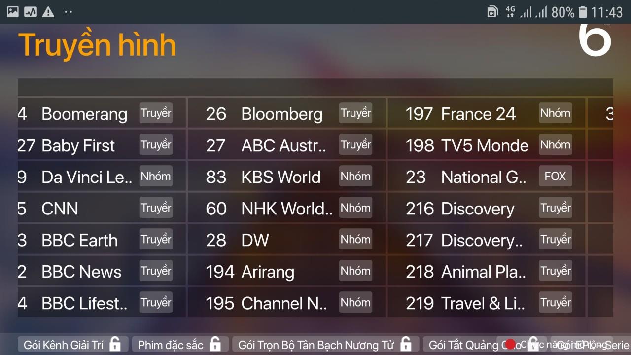 (TẶNG TK XEM 200 KÊNH TRUYỀN HÌNH BẢN QUYỀN HD ĐẶC SÁC) SCTV Android Box Cao cấp - Tặng Remote Voice Search - Giải trí không giới hạn, xem truyền hình cực đỉnh - Hàng chính hãng