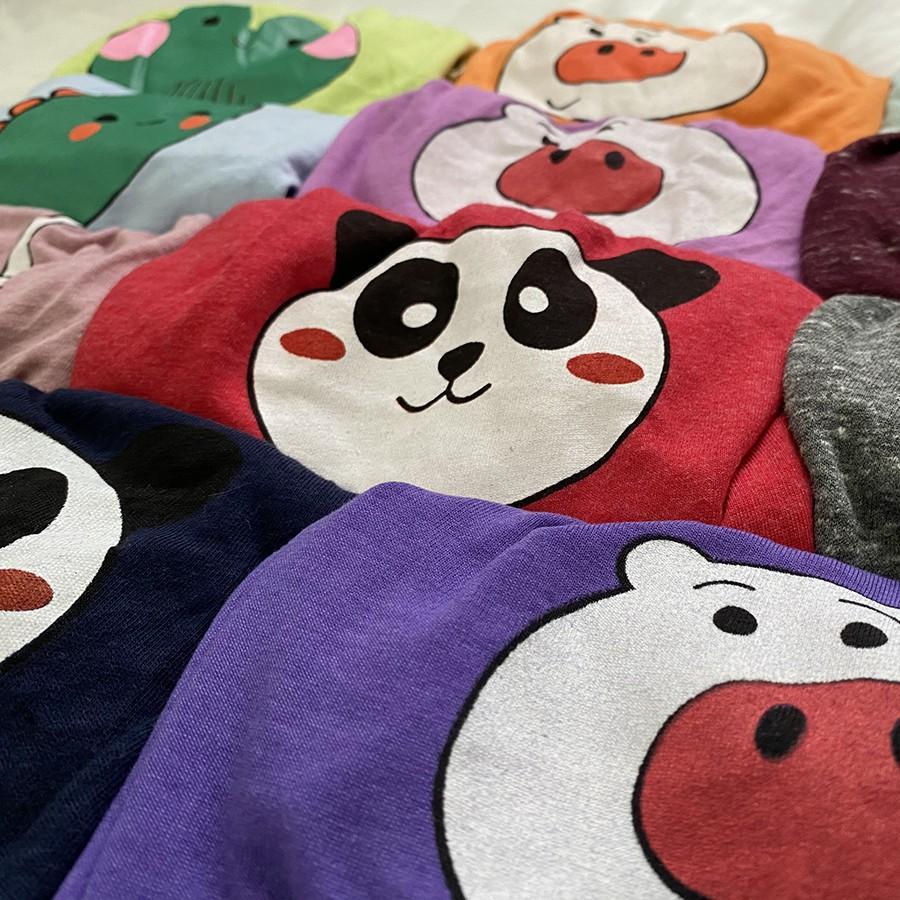 Quần Chip Quần Chục Đùi Cotton Borip Mông Thú Dễ Thương Cho Bé Trai Và Bé Gái Size 6-16kg