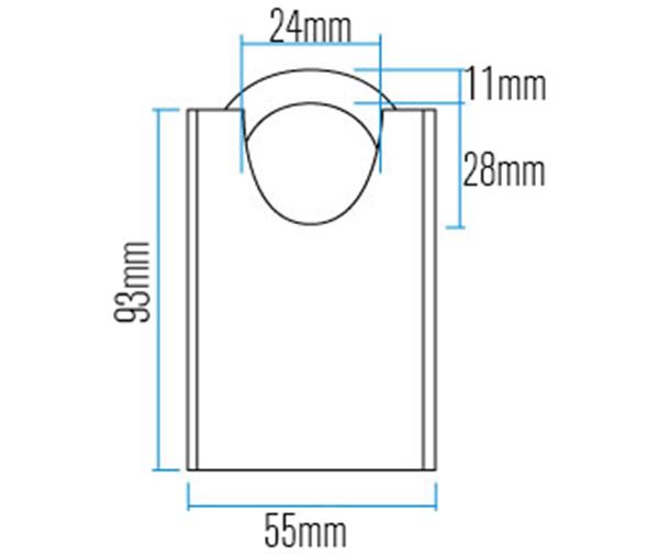 Khóa Thép 83 Series ABUS CS (55mm)