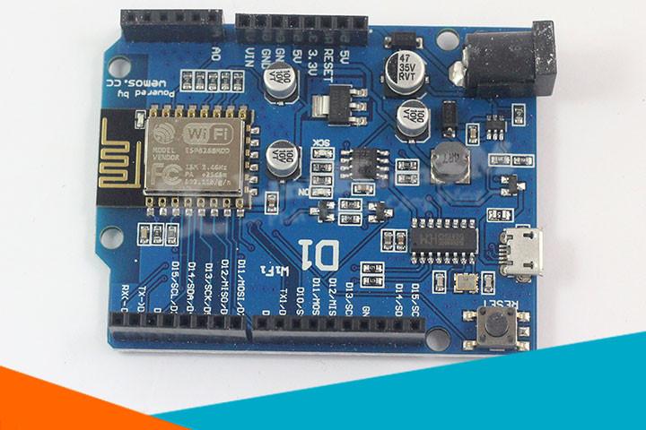 Module Arduino WiFi ESP8266 WeMos D1