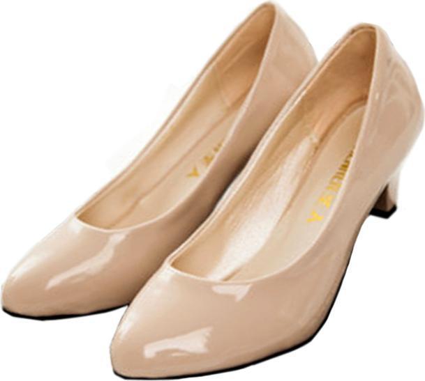 Giày búp bê nữ có gót đáng yêu - 96169