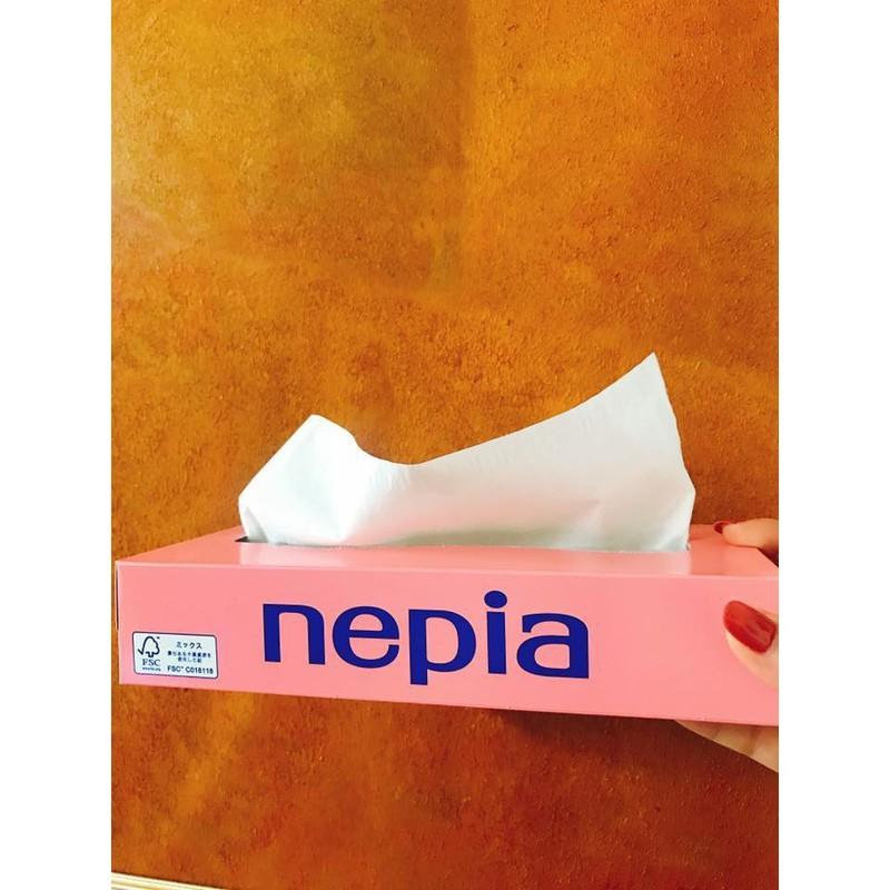 combo 5 hộp giấy ăn 150 tờ Nepia nhập khẩu nhật bản