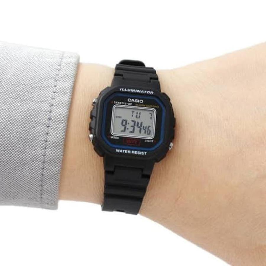 Đồng hồ nữ dây nhựa Casio LA-20WH-1CDF