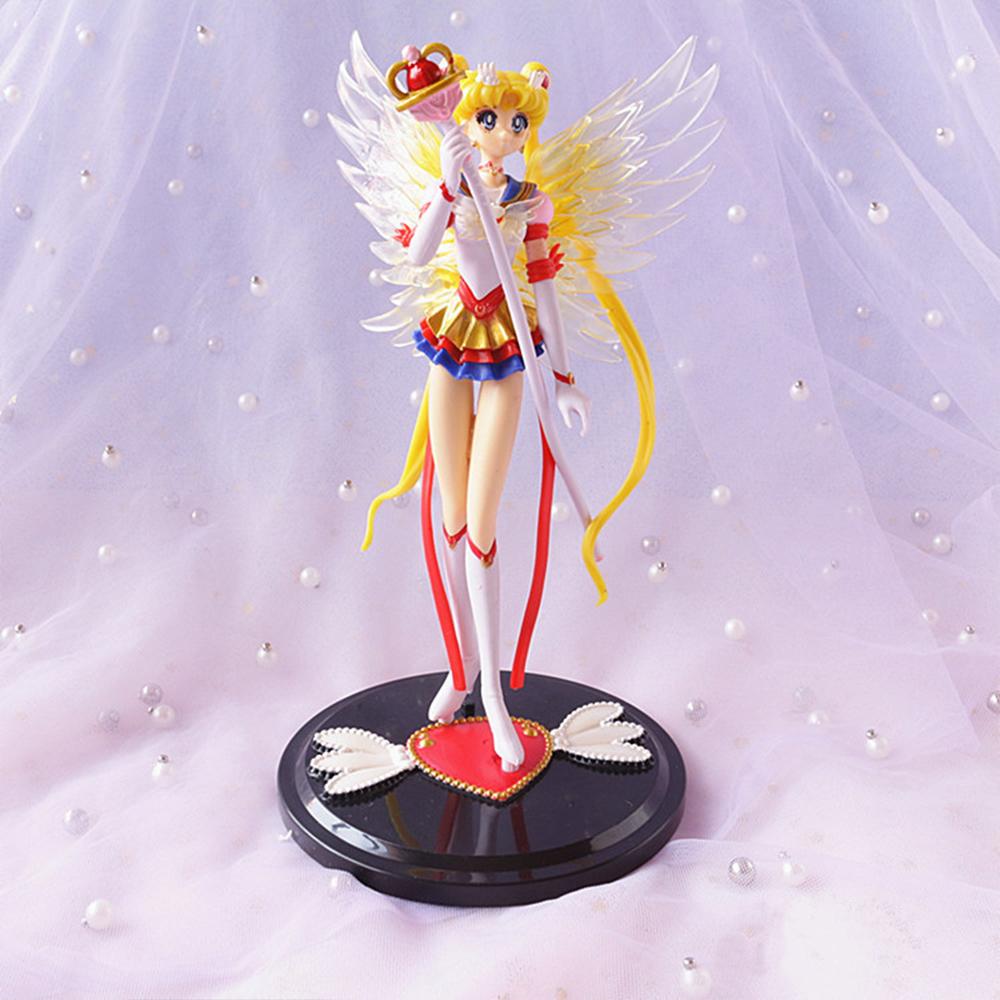 Mô hình nhân vật Eternal Sailor Moon - Thủy Thủ Mặt Trăng Vĩnh Cửu (Có giá đỡ)