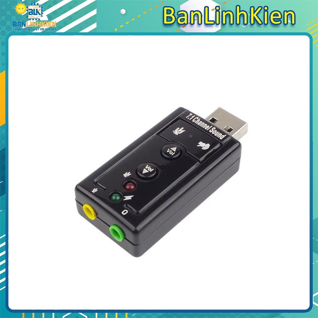 Bộ chuyển đổi âm thanh từ USB sang 3.5/ Card Sound Chuyển Đổi Âm Thanh USB