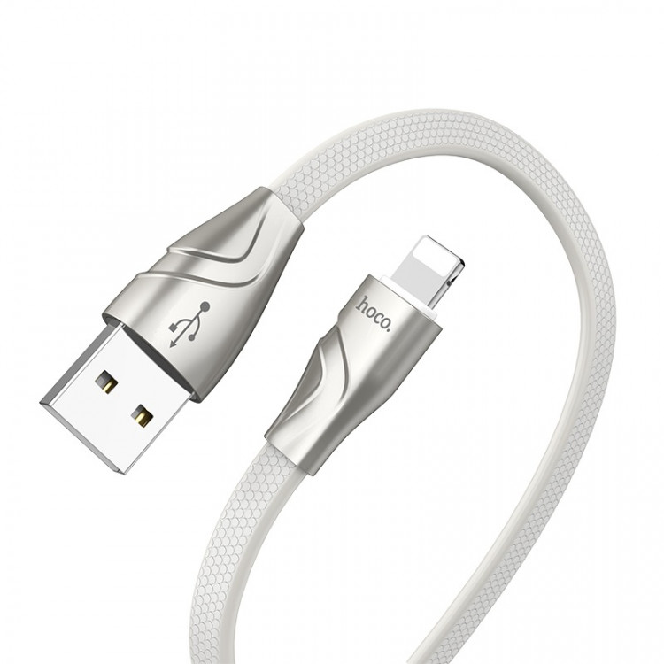 hoco u57 lightning twisting charging data cable flexible